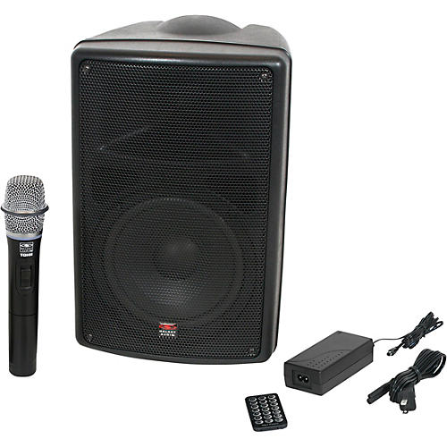 Galaxy Audio TQ8-40H0N Traveler Quest Portable PA With One Receiver And One Handheld Microphone thumbnail