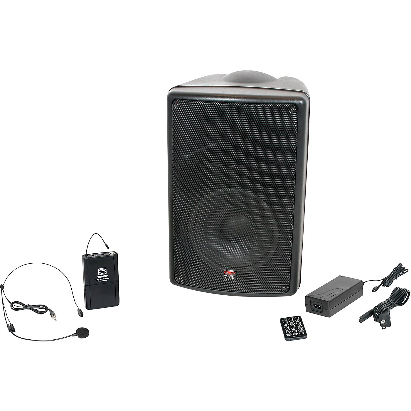 Galaxy Audio TQ8-40S0N Traveler Quest 8 TQ8 Battery Powered PA Speaker With One Reciever And One Headset Microphone thumbnail