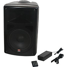 Galaxy Audio TQ8 Traveler Quest 8 Battery Powered All-In-One Portable PA Speaker