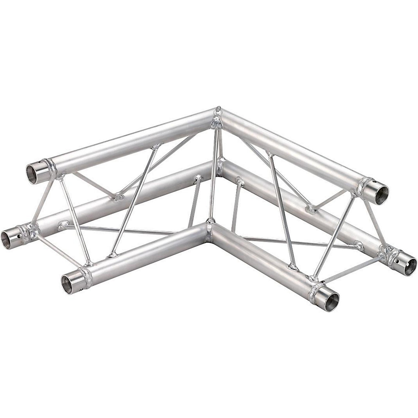 GLOBAL TRUSS TR96112-21 1.64 Ft. (.5 M) 2-Way 90-Degree Up/Down Corner Apex Triangle Truss thumbnail
