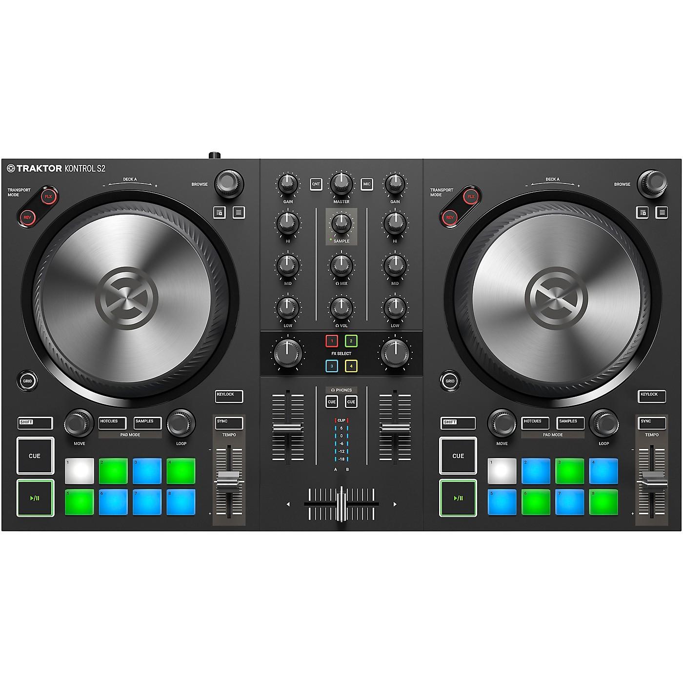 Native Instruments TRAKTOR KONTROL S2 MK3 DJ Controller thumbnail