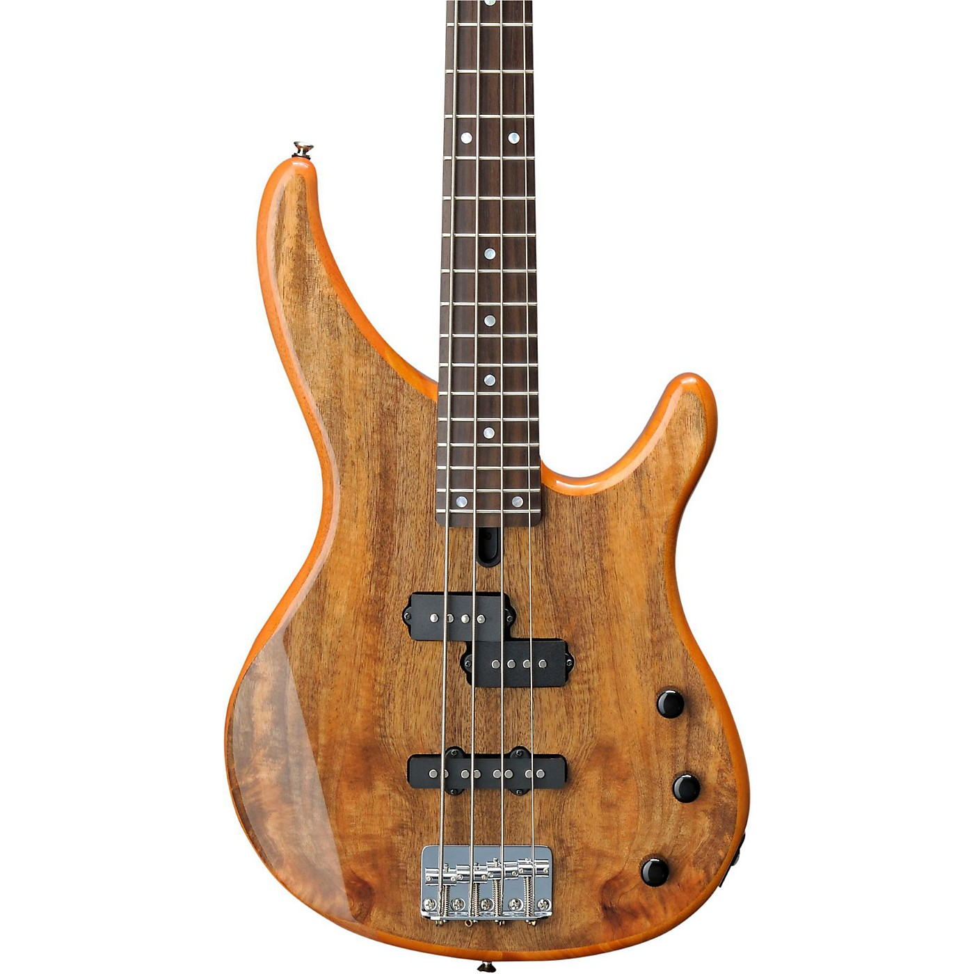 Yamaha TRBX174EW Mango Wood 4-String Electric Bass Guitar thumbnail