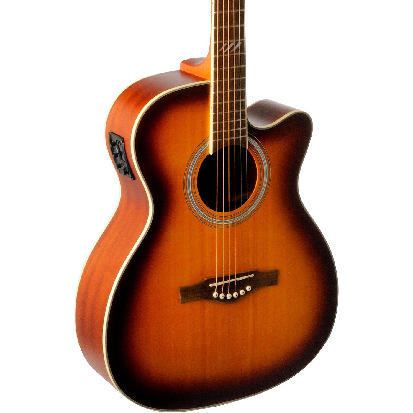 EKO TRI Series Auditorium Cutaway Acoustic-Electric Guitar thumbnail