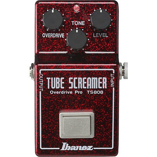 Ibanez TS808 40TH Anniversary Tube Screamer Overdrive Pro Limited Edition Effects Pedal thumbnail