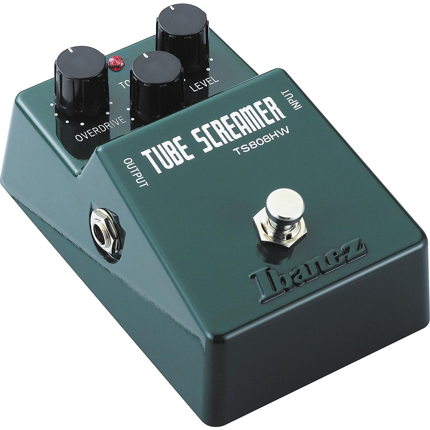 Ibanez TS808HW Tube Screamer Overdrive Guitar Effects Pedal thumbnail