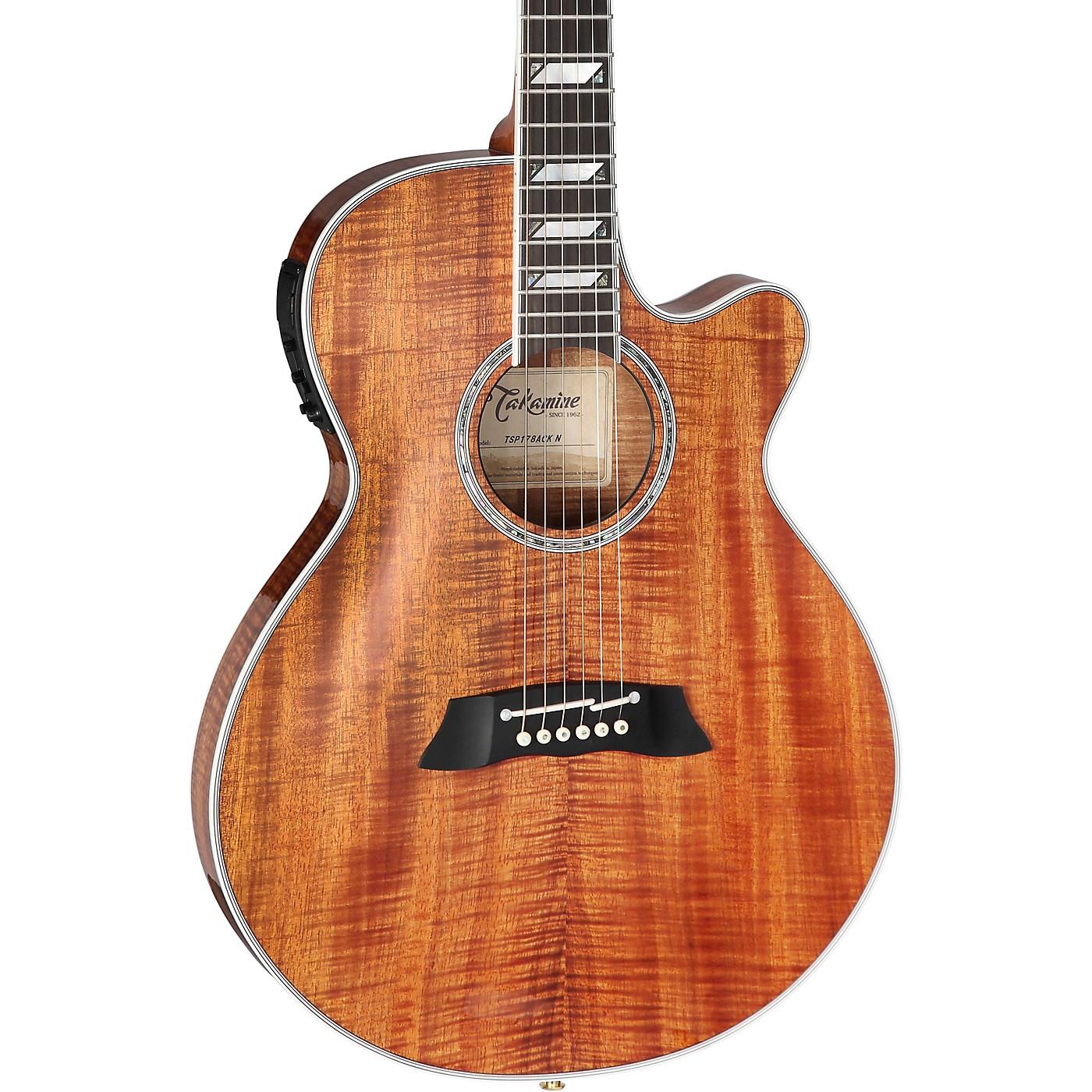Takamine TSP178ACK Koa Thinline Acoustic-Electric Guitar thumbnail
