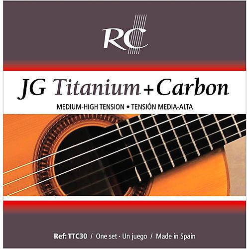 RC Strings TTC30 JG Titanium/Carbon Medium-High Tension Nylon Guitar Strings thumbnail