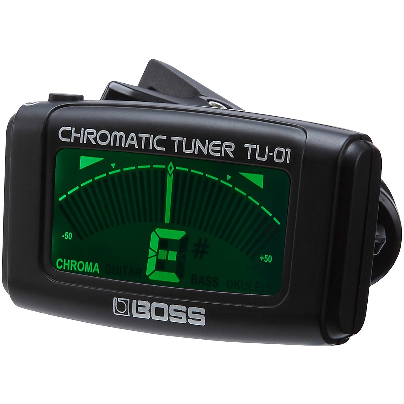 BOSS TU-01 Clip-on Chromatic Tuner thumbnail