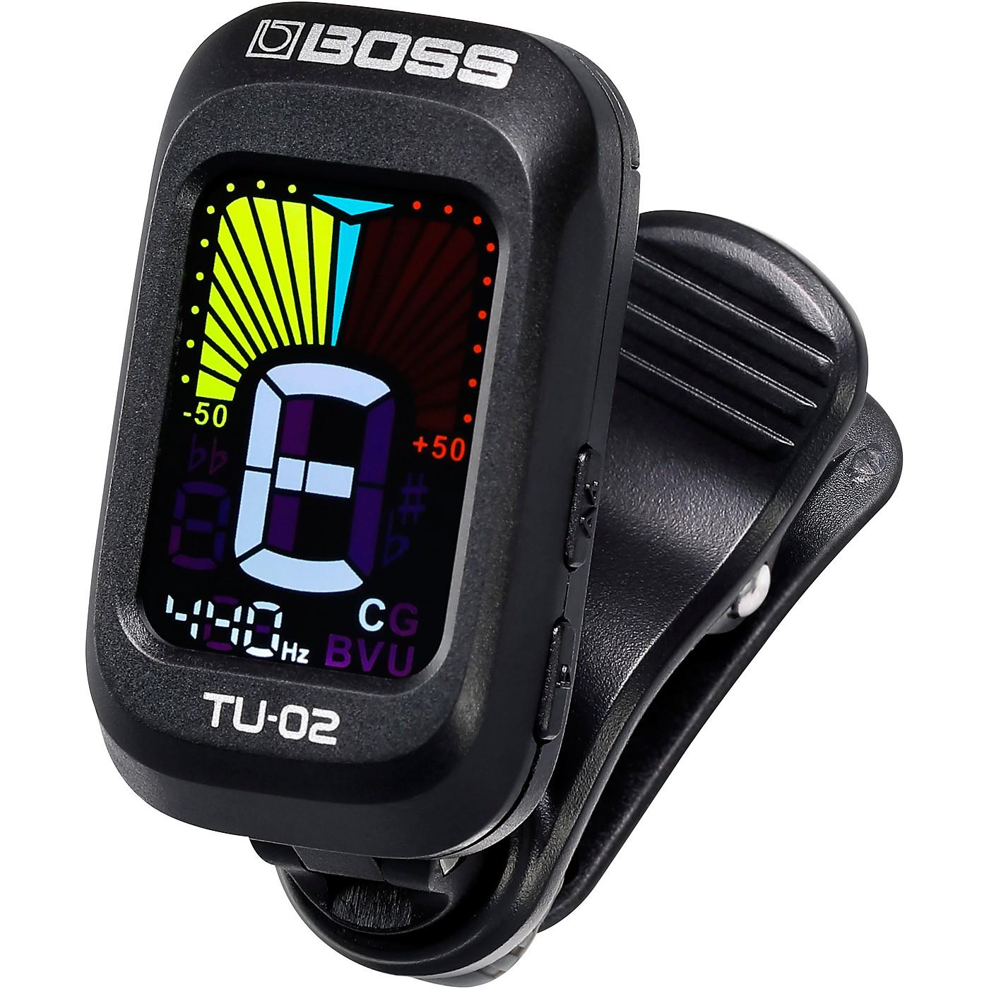 BOSS TU-02 Clip on Tuner thumbnail