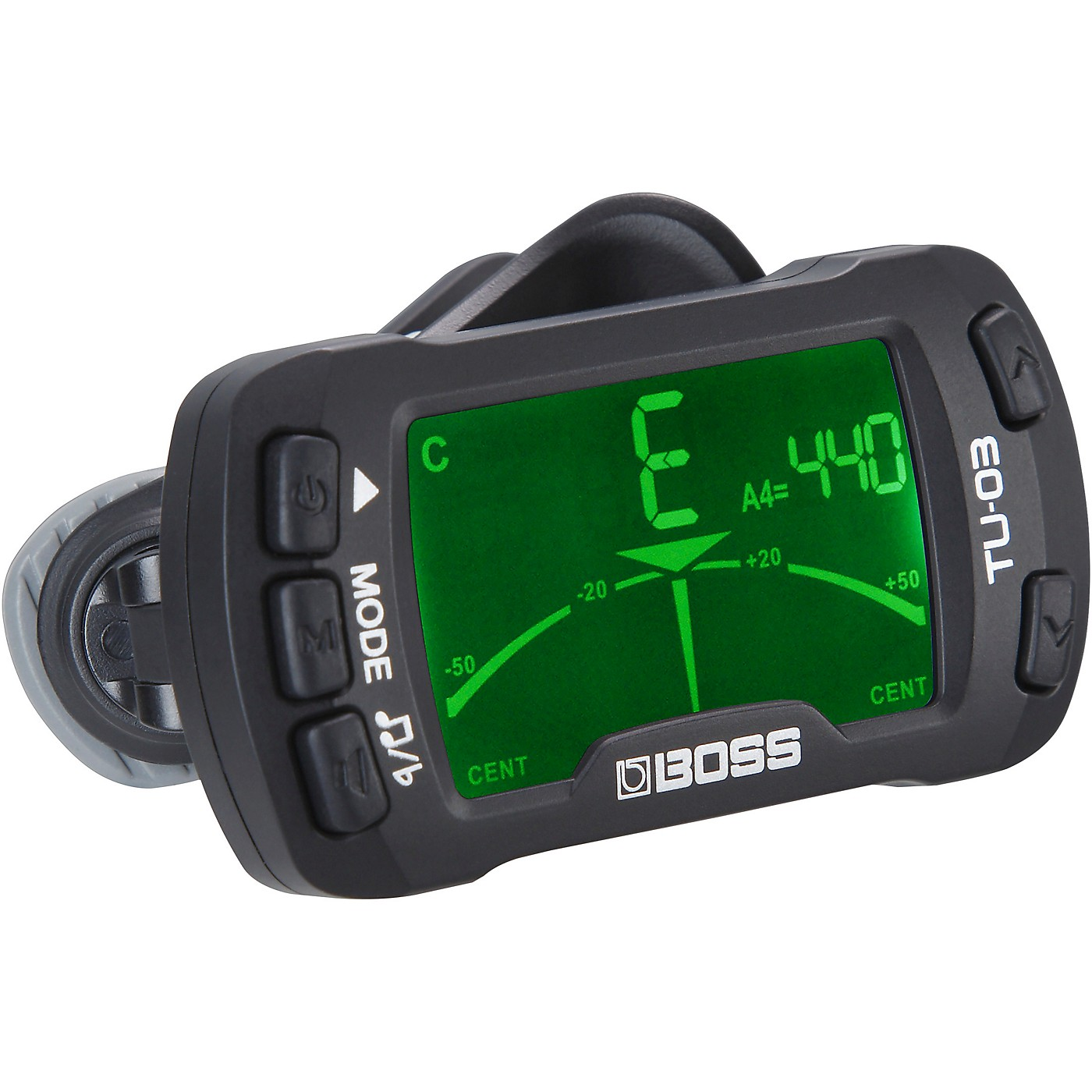 BOSS TU-03 Clip-on Tuner and Metronome thumbnail