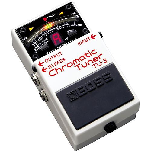 Boss TU-3 Chromatic Pedal Tuner thumbnail