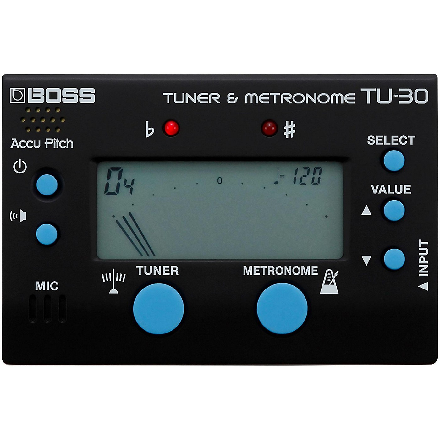 Boss TU-30 Metronome & Tuner Combo thumbnail