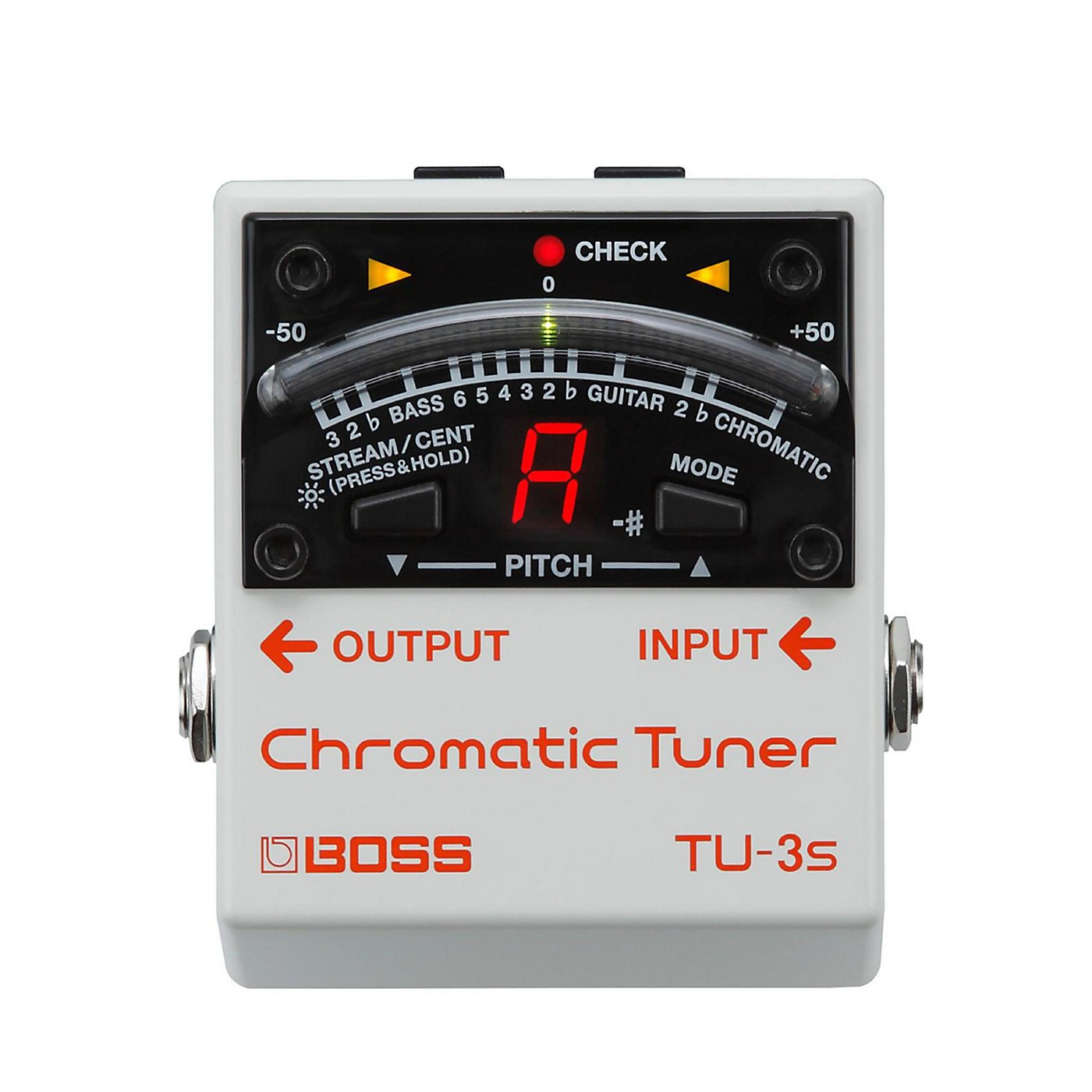 BOSS TU-3S Chromatic Tuner thumbnail