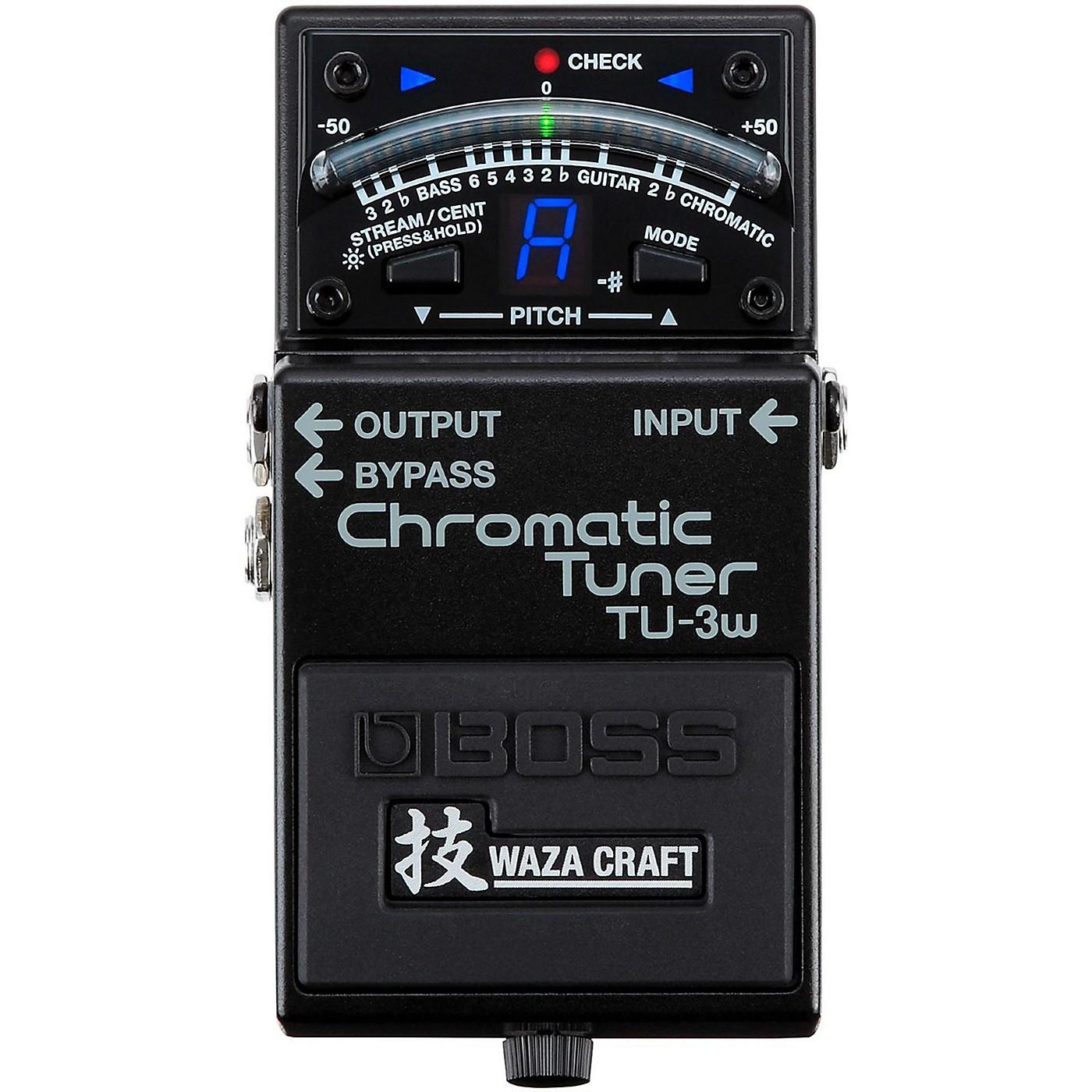 Boss TU-3W Waza Craft Chromatic Tuner Pedal thumbnail