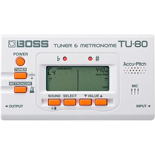 Boss TU-80 Guitar Tuner & Metronome thumbnail