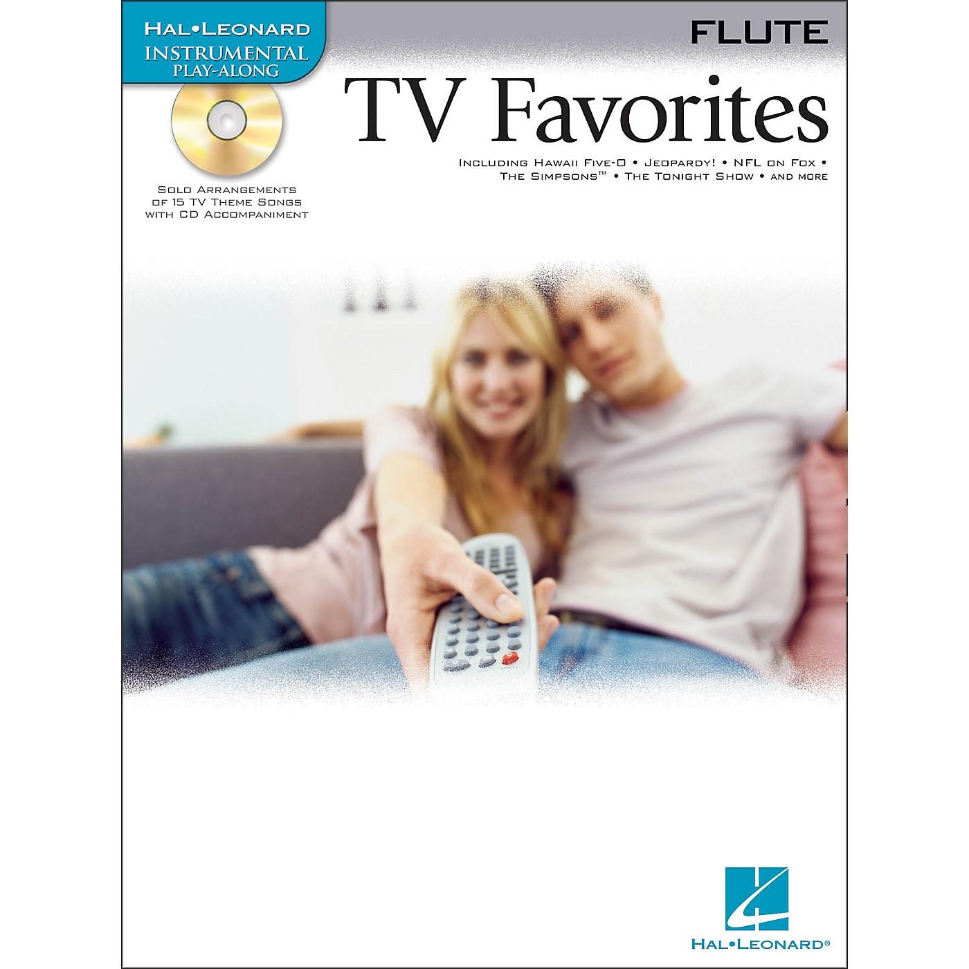 Hal Leonard TV Favorites for Flute Book/CD thumbnail
