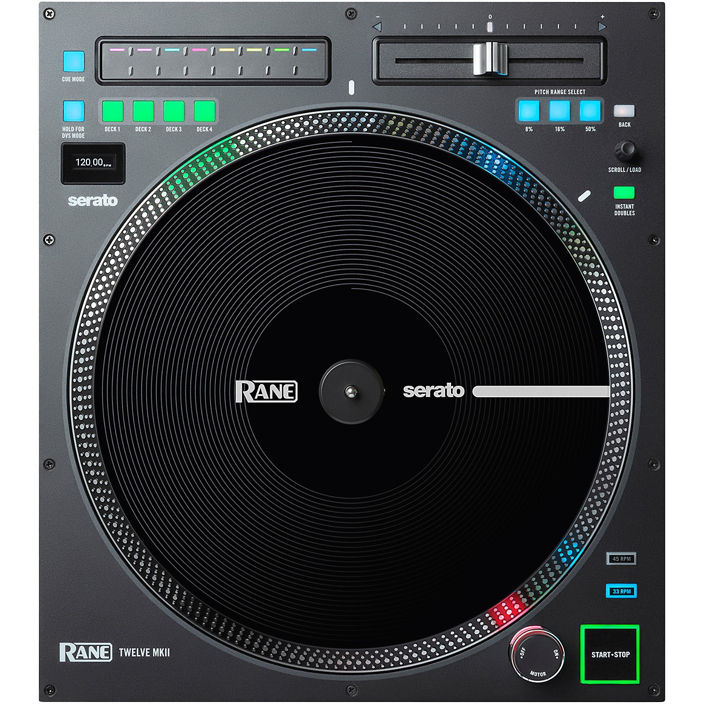 RANE DJ TWELVE MKII Motorized Battle-Ready DJ MIDI Controller thumbnail