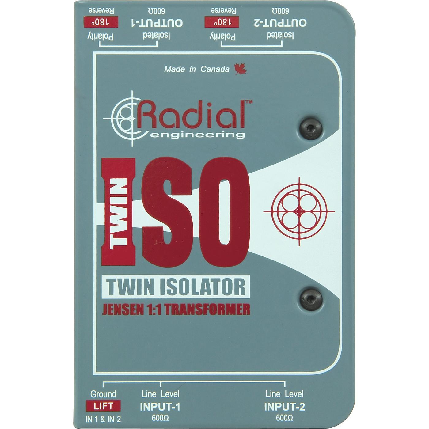 Radial Engineering TWIN ISO Passive Line-Level Isolator thumbnail