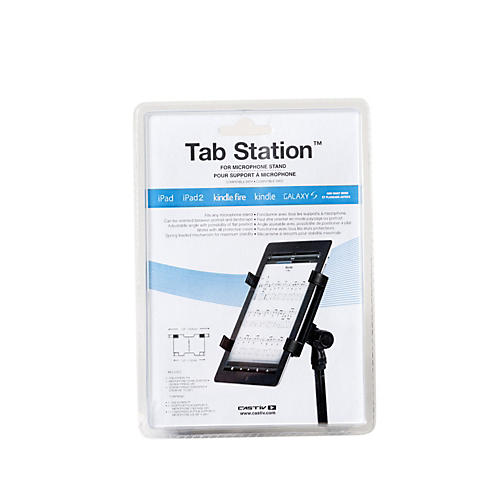 Castiv Tab Station for Mic Stand - iPad & Tablet Computer Adapter for Microphone Stand-thumbnail