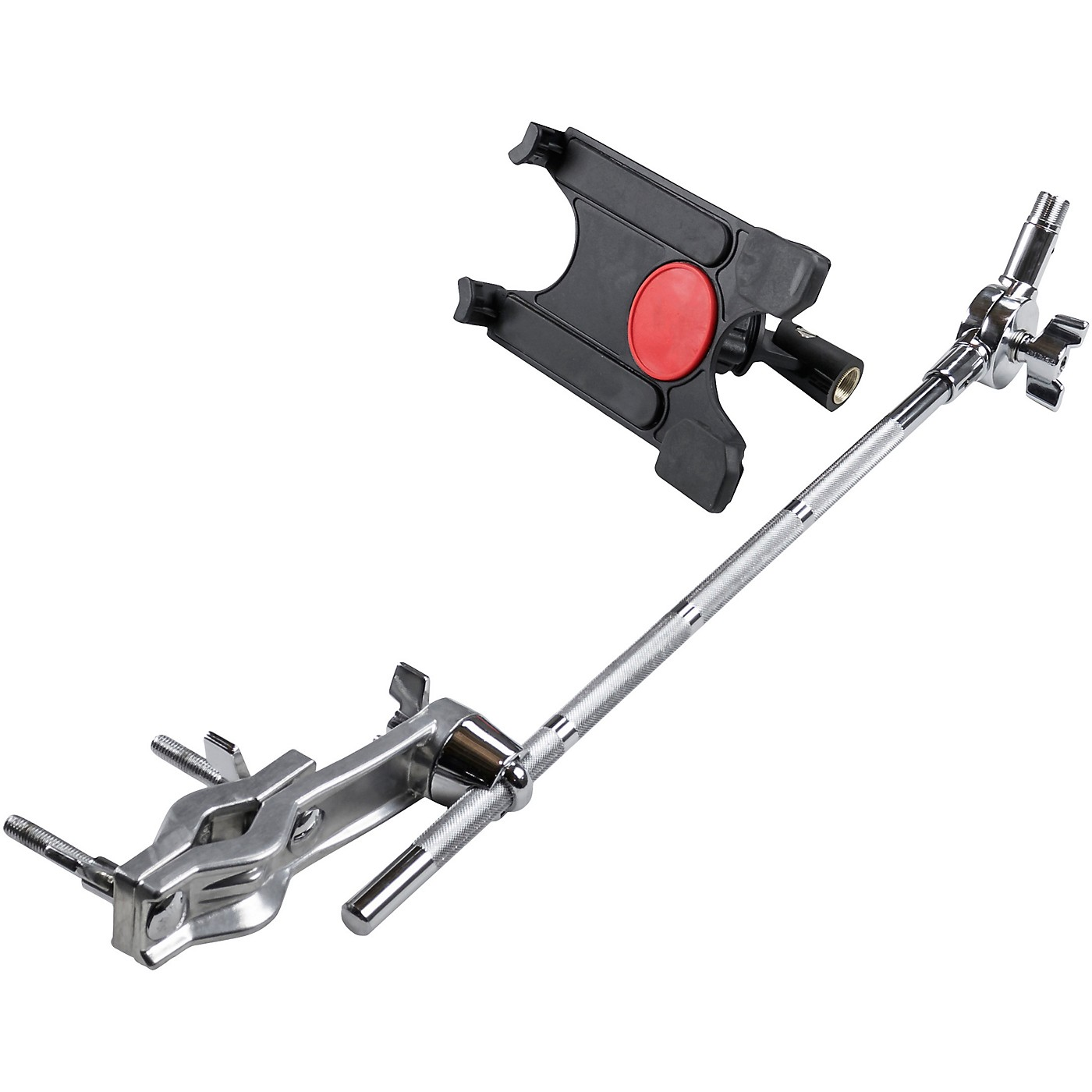 Gibraltar Tablet Mount with Long Boom Arm and Crabber Clamp thumbnail