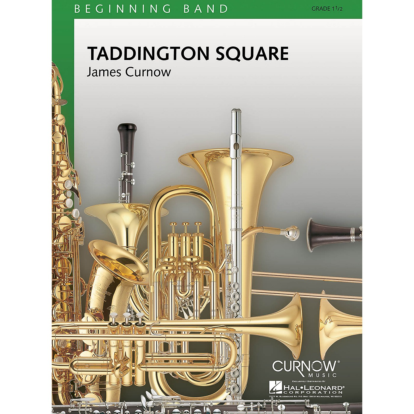 Curnow Music Taddington Square (Grade 1.5 - Score Only) Concert Band Level 1.5 Composed by James Curnow thumbnail