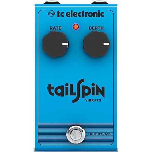 TC Electronic Tail Spin Vibrato Effect Pedal thumbnail