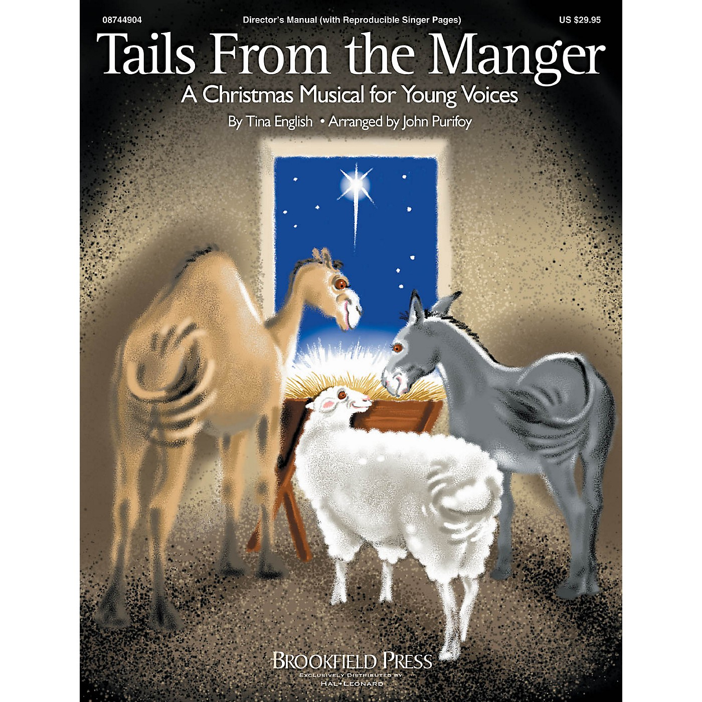 Hal Leonard Tails from the Manger PREV CD Composed by Tina English thumbnail