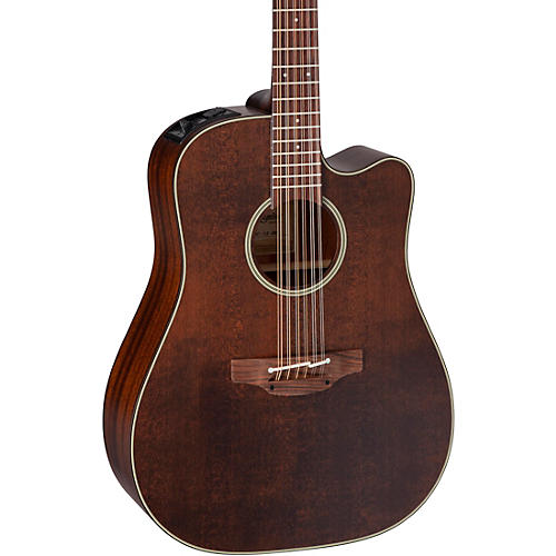 Takamine Takamine P1DC-12 SM 12-String Dreadnought Acoustic-Electric Guitar thumbnail