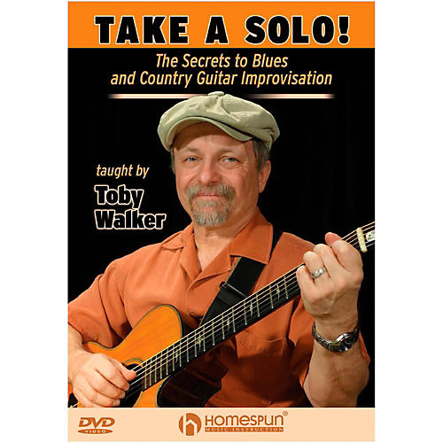 Homespun Take A Solo!  The Secrets To Blues And Country Guitar Improvisation DVD thumbnail