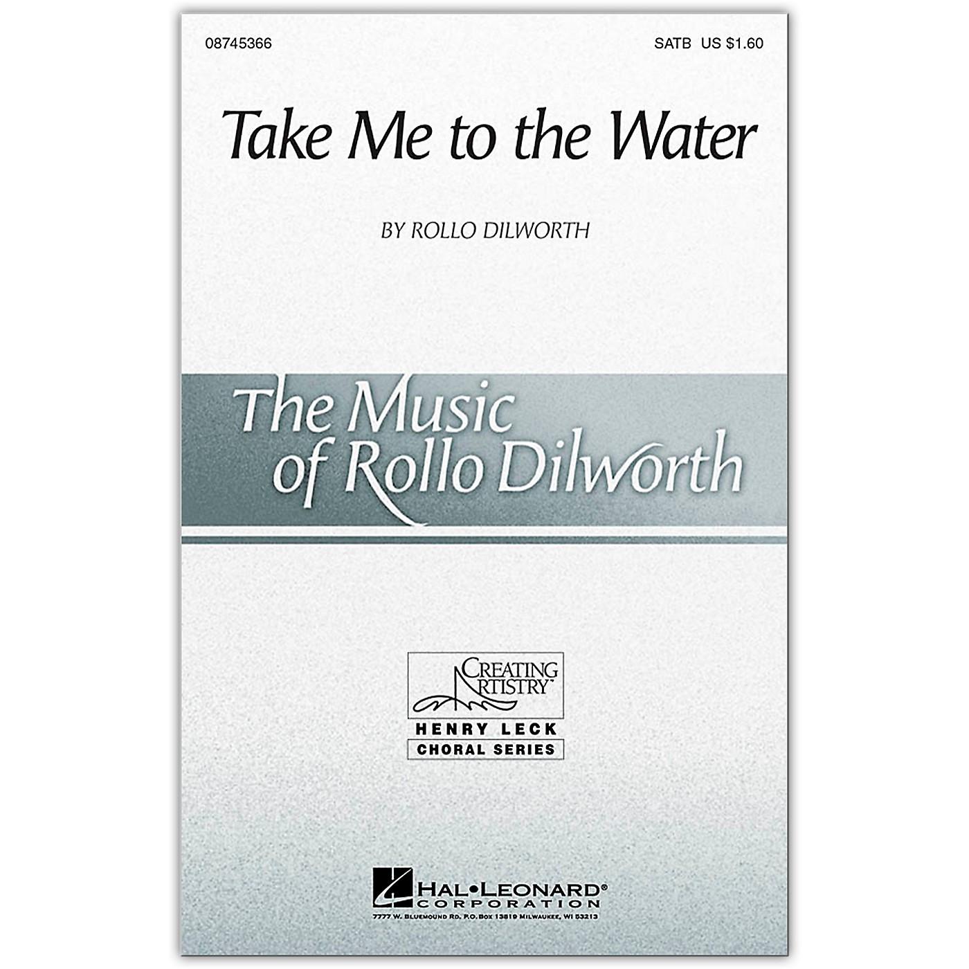 Hal Leonard Take Me To The Water SATB thumbnail