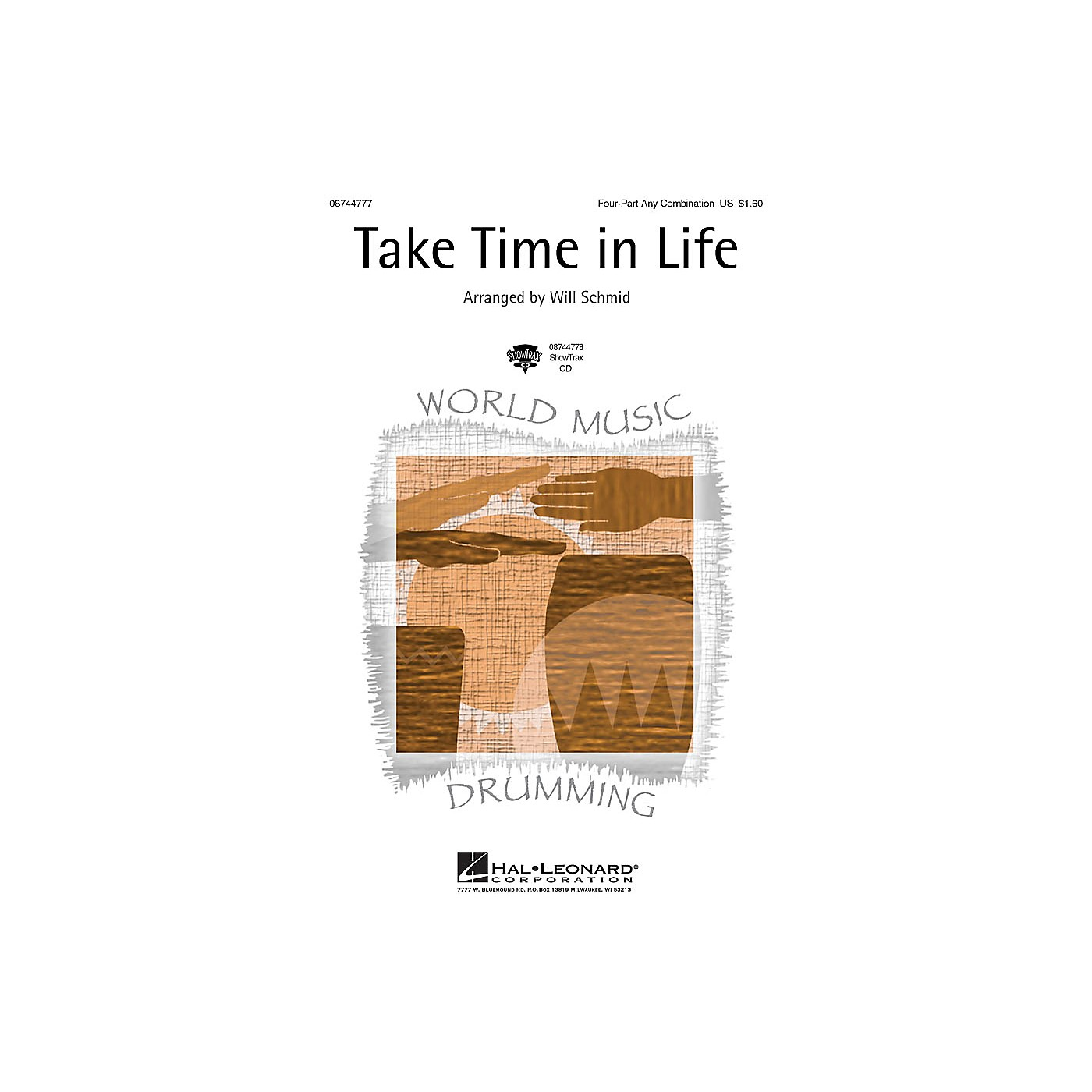 Hal Leonard Take Time in Life ShowTrax CD Arranged by Will Schmid thumbnail