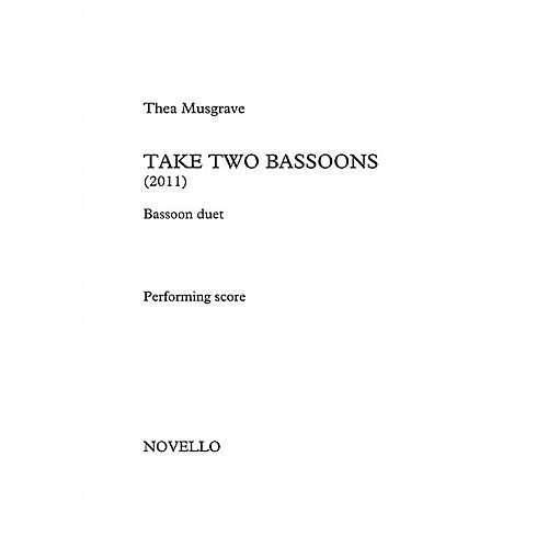 Novello Take Two Bassoons Music Sales America Series Book by Thea Musgrave thumbnail