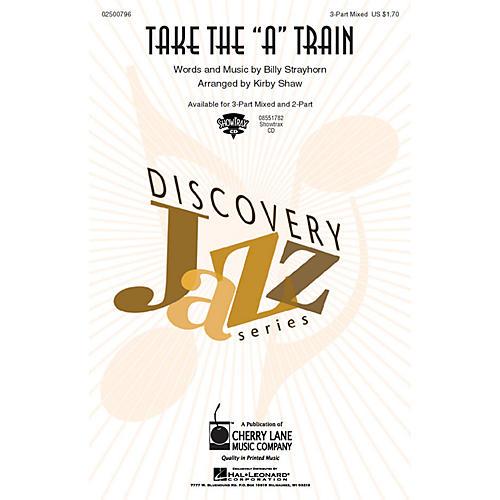 Hal Leonard Take the A Train ShowTrax CD Arranged by Kirby Shaw thumbnail