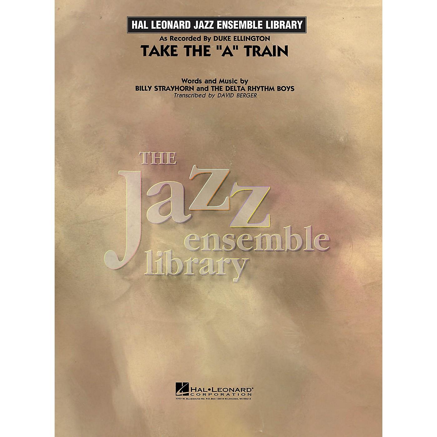 Hal Leonard Take the 'A' Train (transcription) Jazz Band Level 4 by Duke Ellington Arranged by David Berger thumbnail