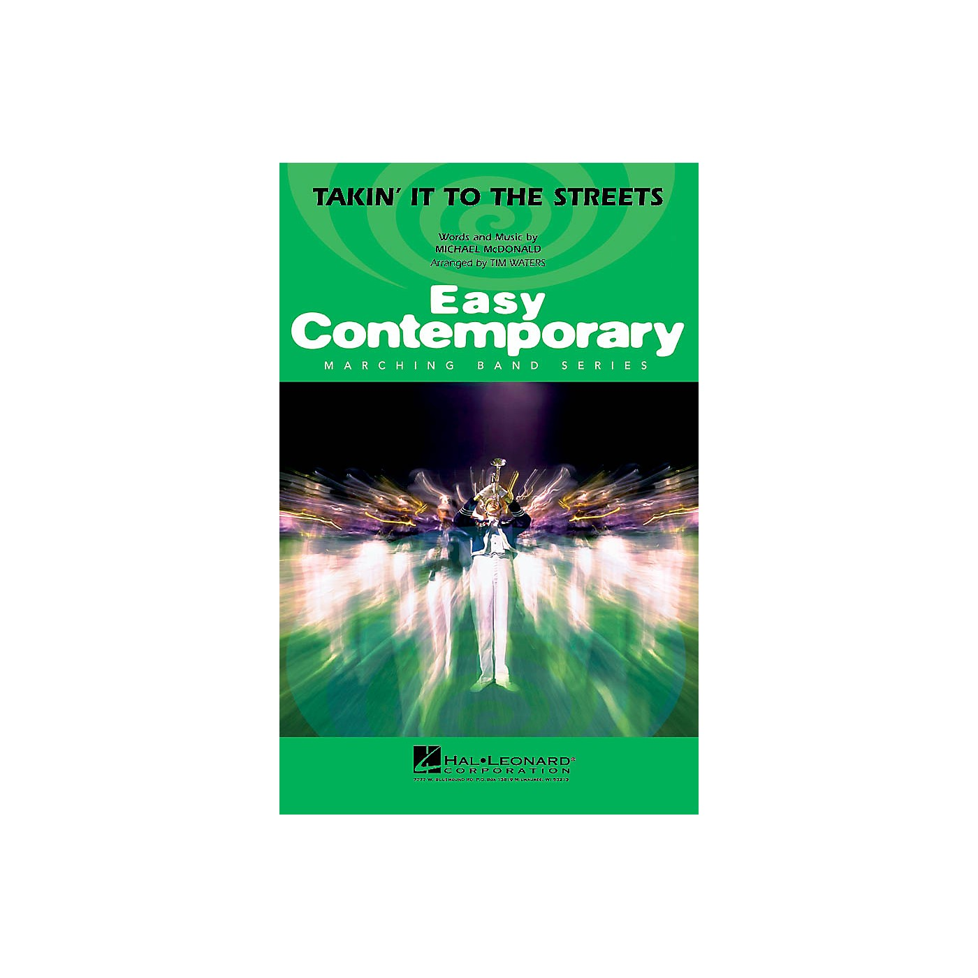 Hal Leonard Takin' It to the Streets Marching Band Level 2-3 Arranged by Tim Waters thumbnail