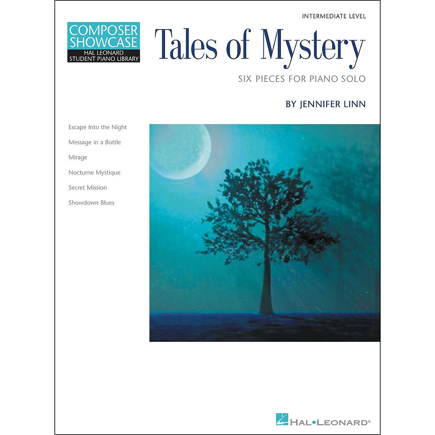 Hal Leonard Tales Of Mystery - Six Intermediate Level Piano Solos Hal Leonard Student Piano Library by Jennifer Linn thumbnail