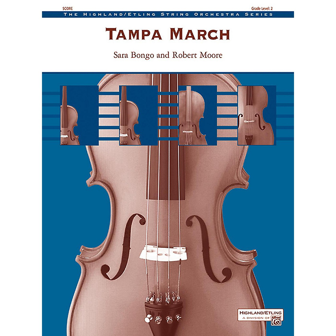 Alfred Tampa March String Orchestra Grade 2 thumbnail