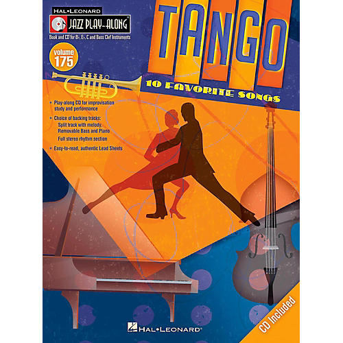 Hal Leonard Tango - Jazz Play-Along Volume 175 Book/CD thumbnail