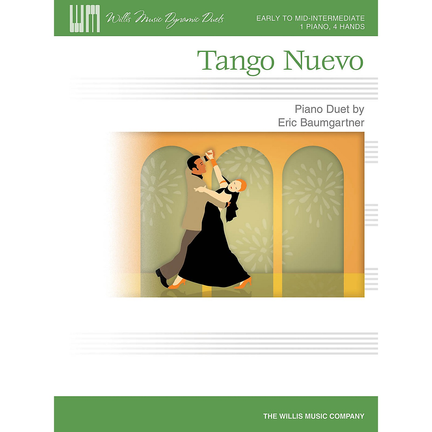 Willis Music Tango Nuevo Willis Series Book by Eric Baumgartner (Level Early to Mid-Inter) thumbnail