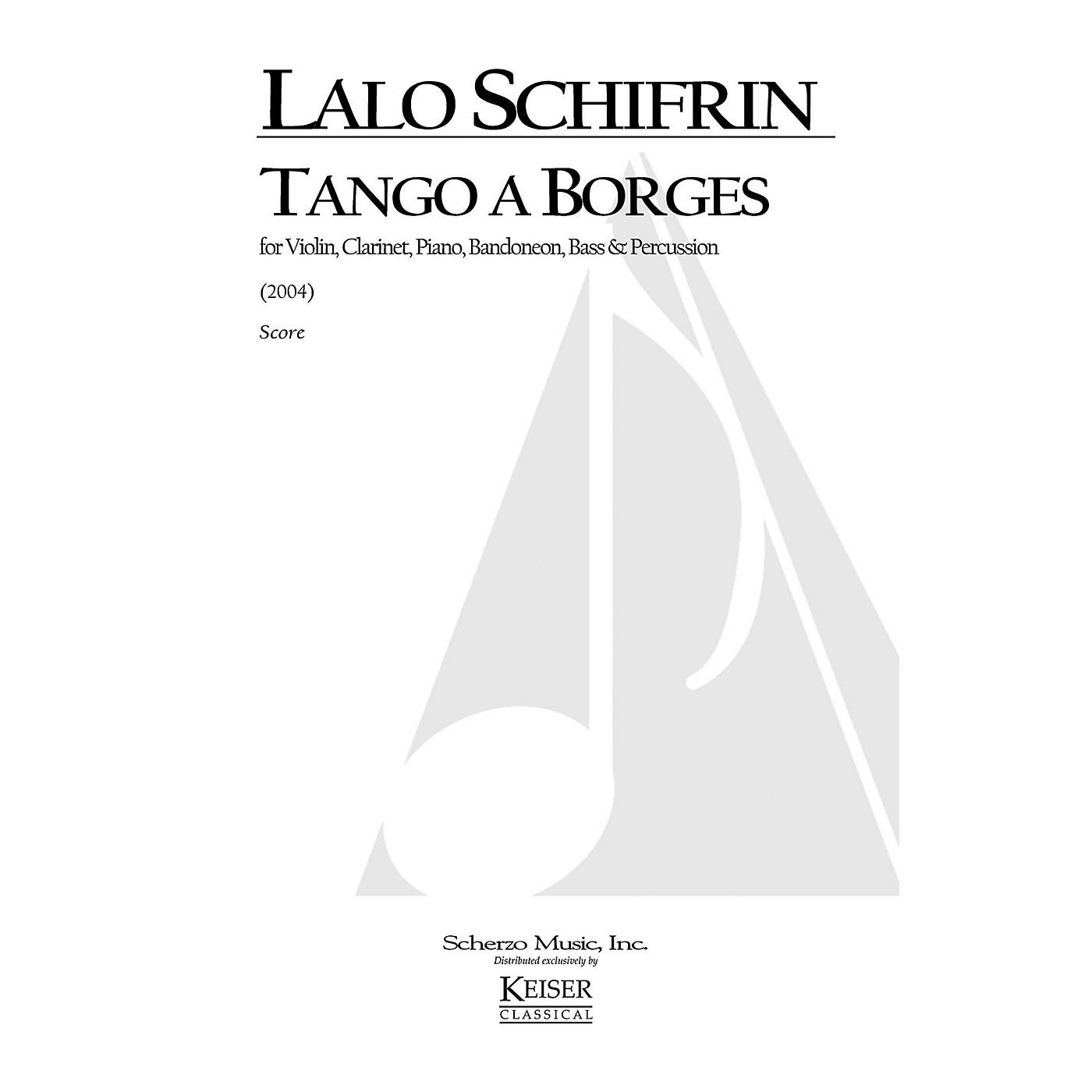 Lauren Keiser Music Publishing Tango a Borges (for 6-Player Tango Ensemble) LKM Music Series by Lalo Schifrin thumbnail