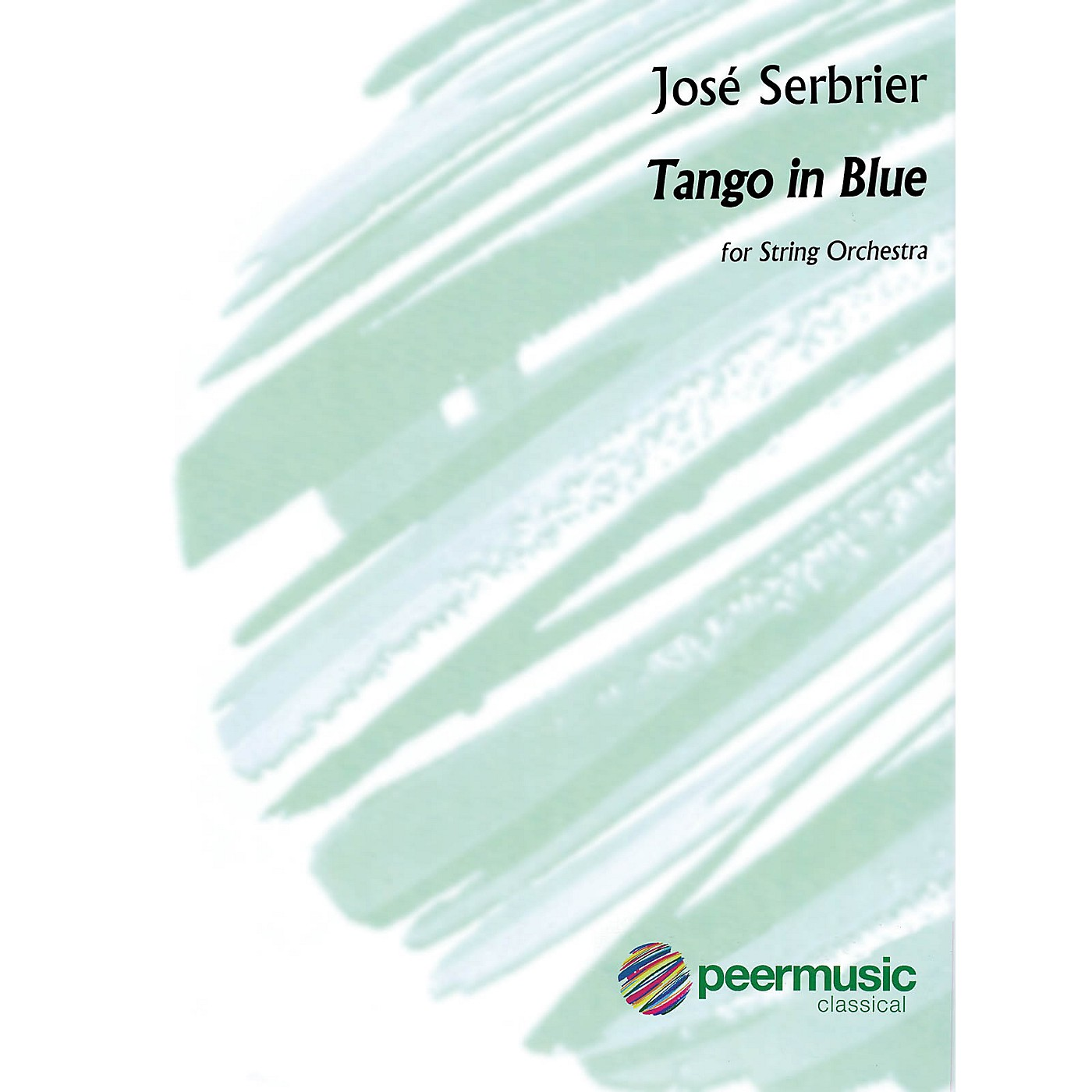 Peer Music Tango in Blue (Tango en Azul) Peermusic Classical Series Softcover Composed by José Serebrier thumbnail
