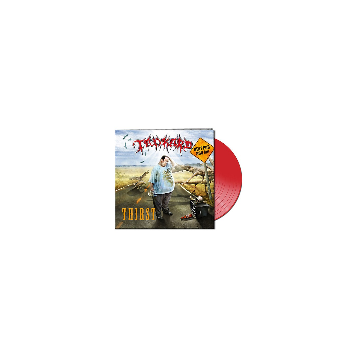 Alliance Tankard - Thirst (Clear Red Vinyl) thumbnail