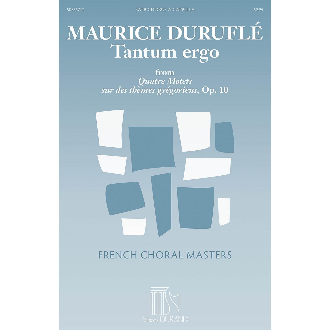 Durand Tantum Ergo SATB a cappella Composed by Maurice Duruflé thumbnail