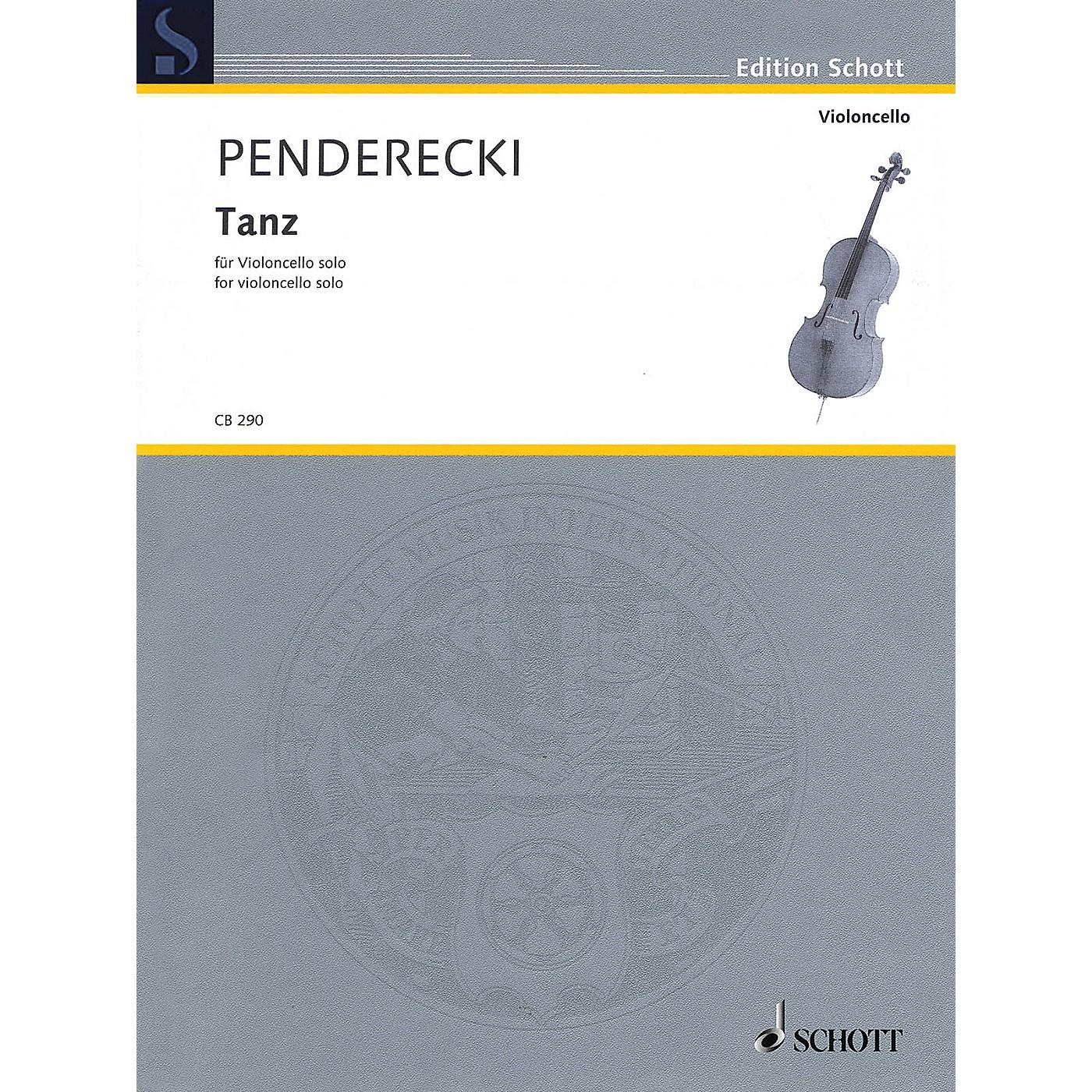 Schott Tanz (for Cello Solo) String Solo Series Softcover thumbnail