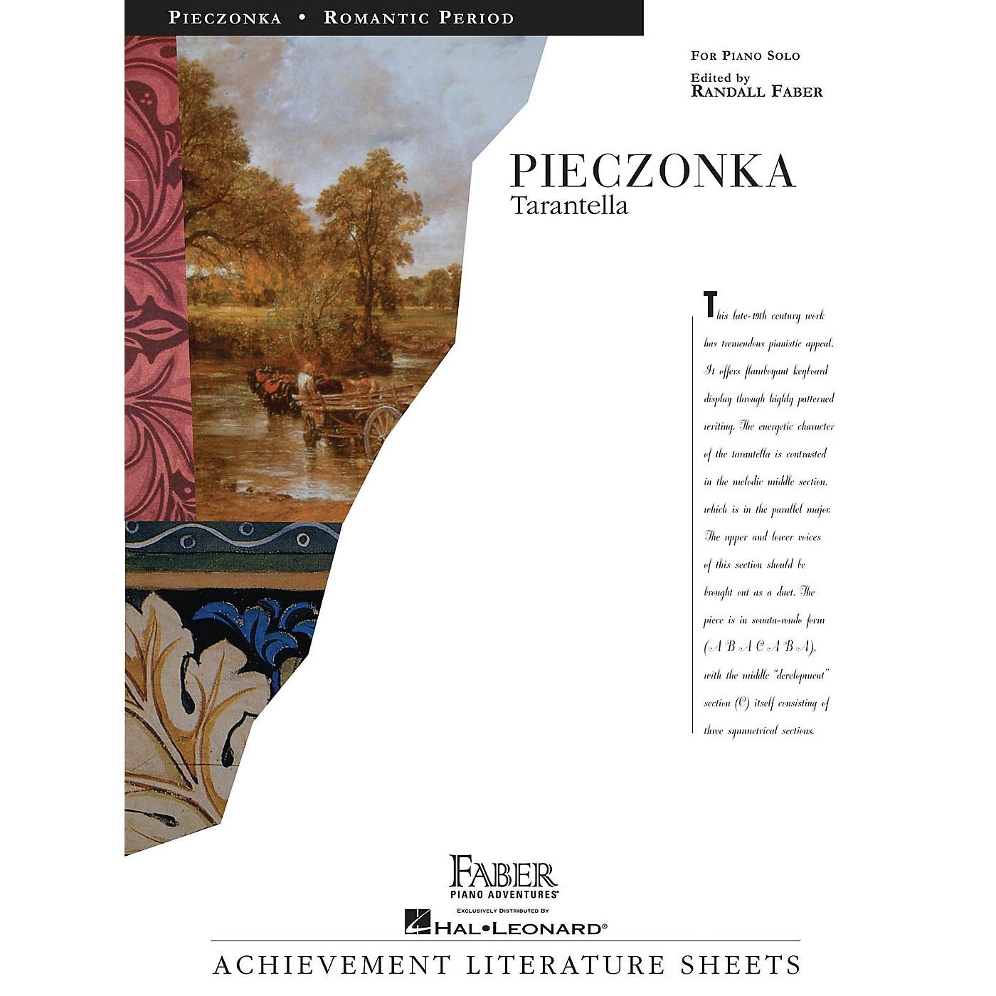 Faber Piano Adventures Tarantella Faber Piano Adventures® Series Composed by Albert Pieczonka thumbnail