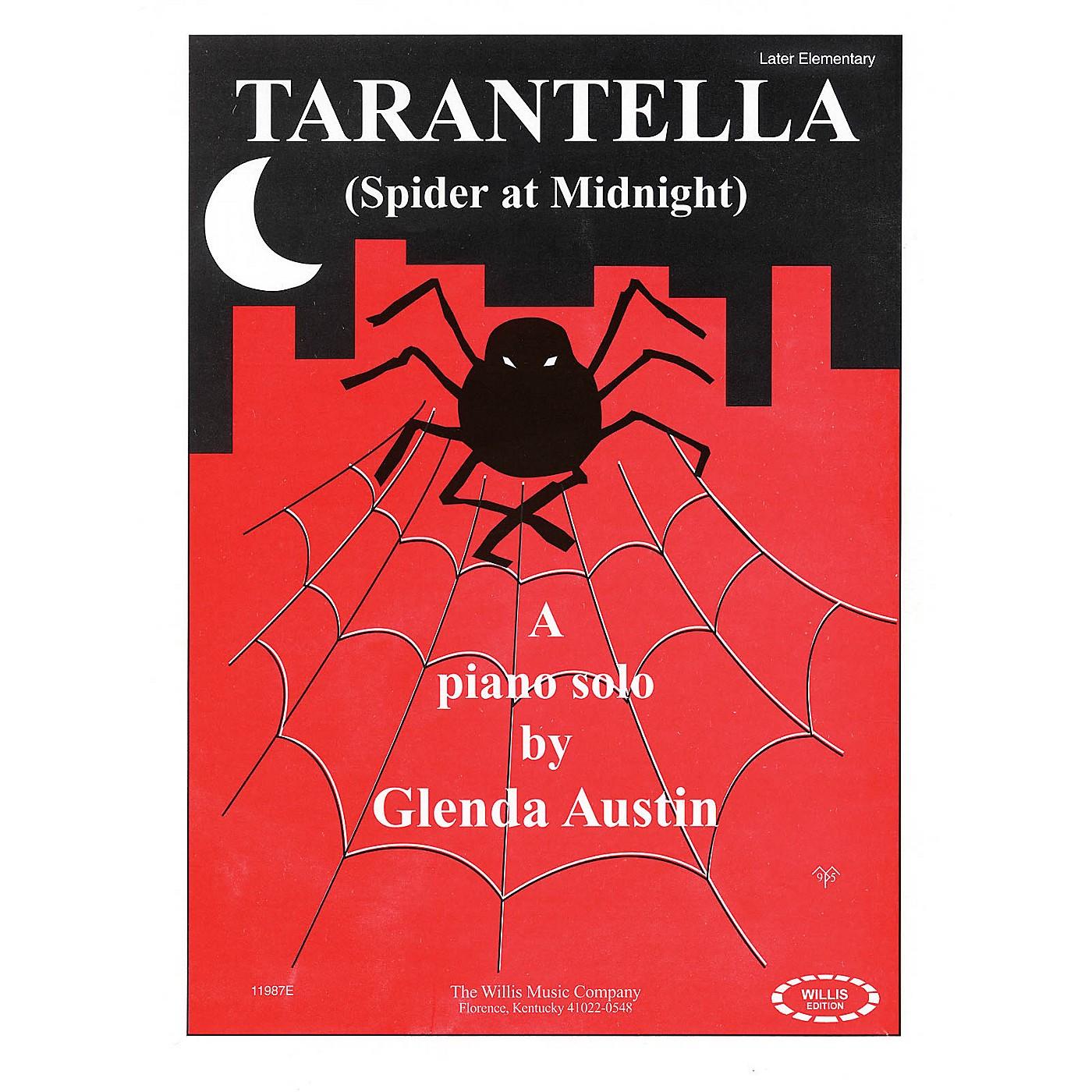 Willis Music Tarantella (Spider at Midnight) (Later Elem Level) Willis Series by Glenda Austin thumbnail