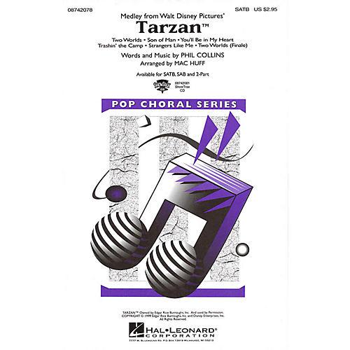 Hal Leonard Tarzan (Medley) SAB Arranged by Mac Huff thumbnail
