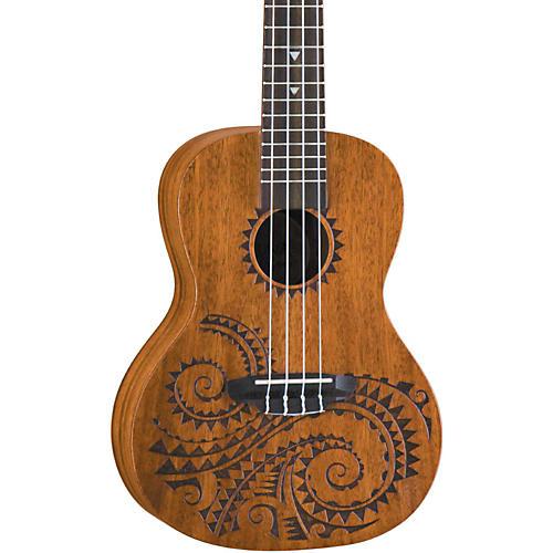 Luna Guitars Tattoo Concert Mahogany Ukulele thumbnail