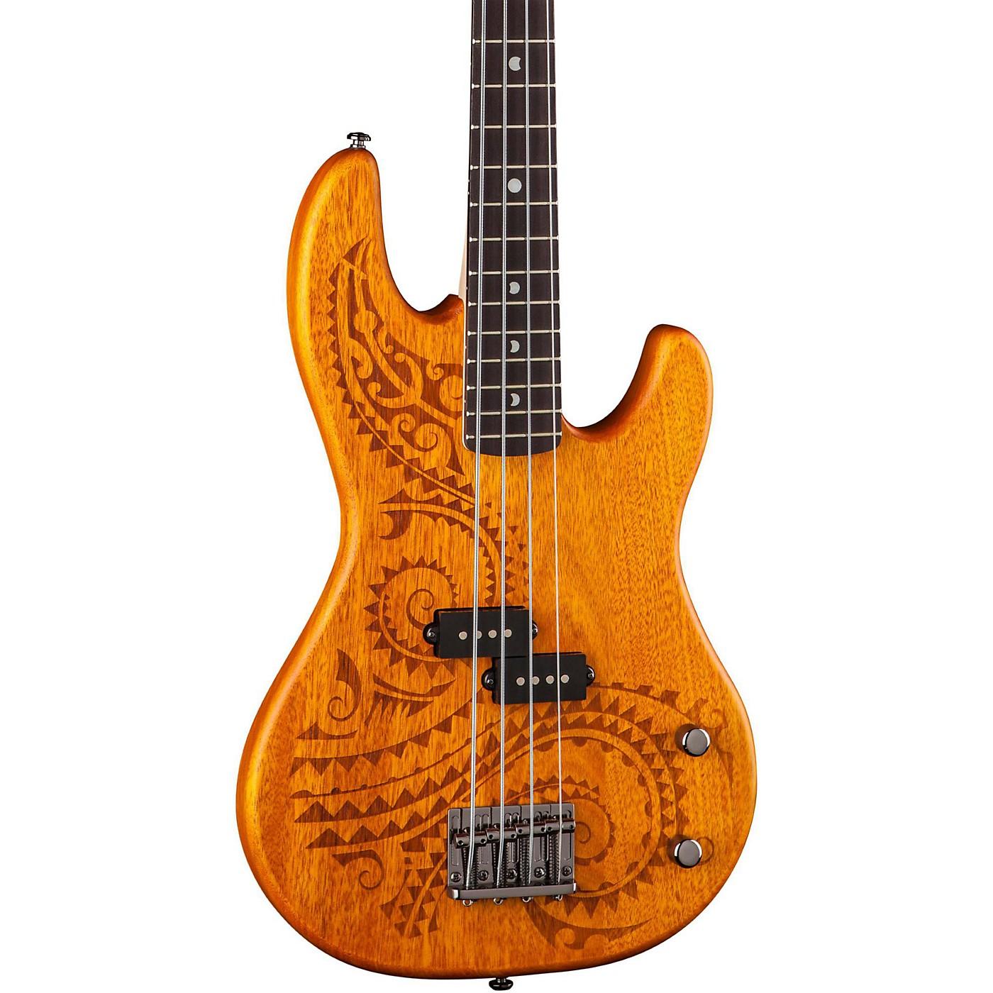 Luna Guitars Tattoo Short Scale Electric Bass thumbnail