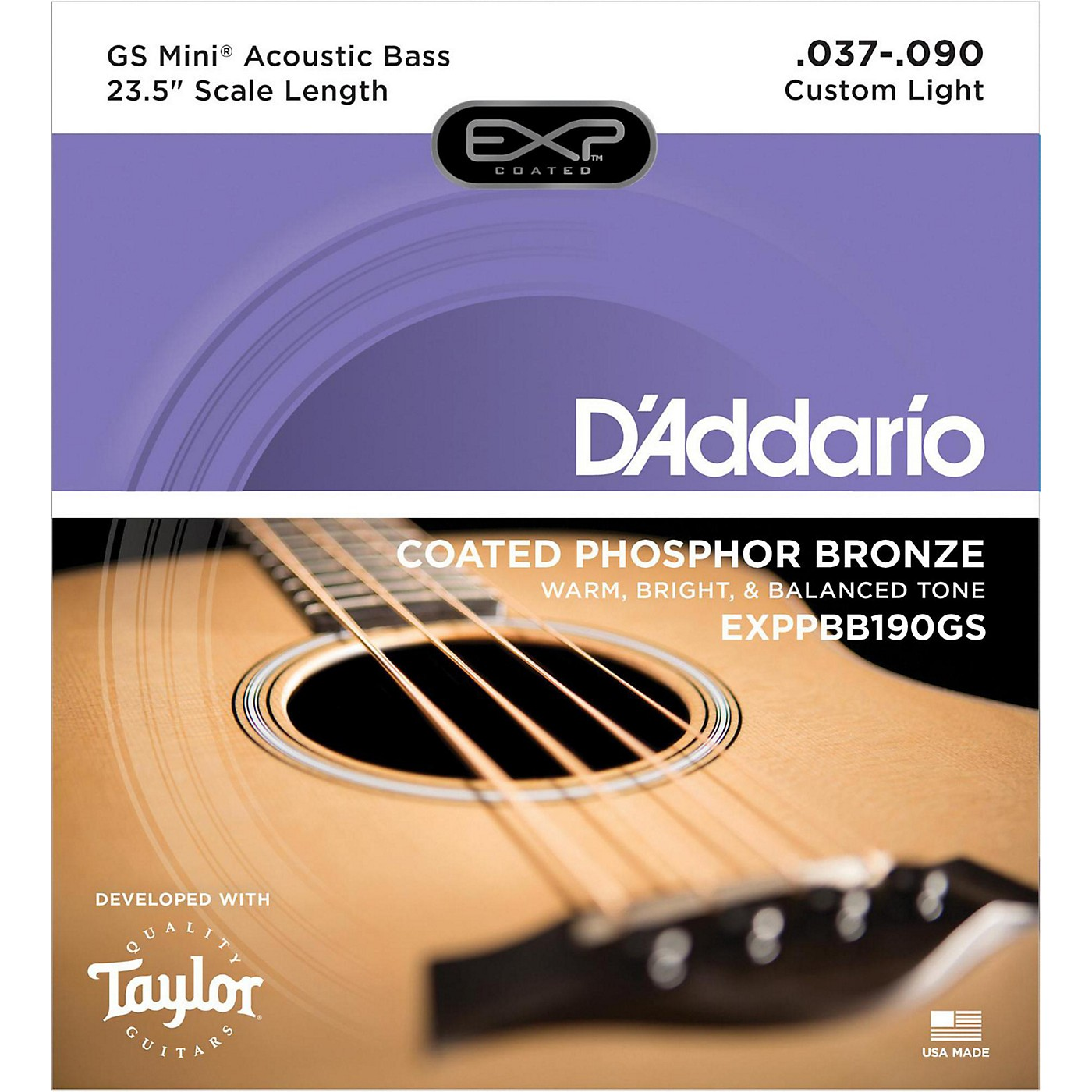 D'Addario Taylor GS Mini Bass Strings thumbnail